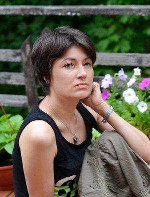 Писатель Ольга Аникина // Формаслов. Фото Юлии Рымкевич
