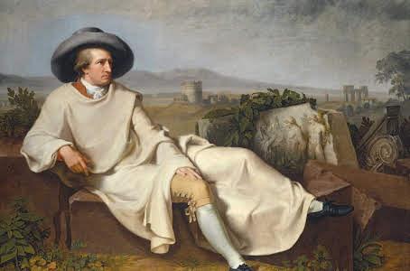 Портрет Гете в Кампаньи, Иоганн Тишбейн,1787