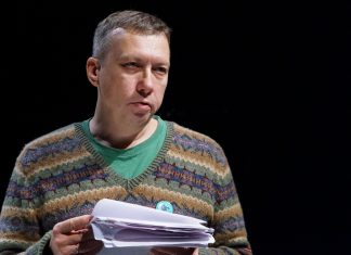 Поэт и прозаик Игорь Караулов. Фото Регины Соболевой // Формаслов