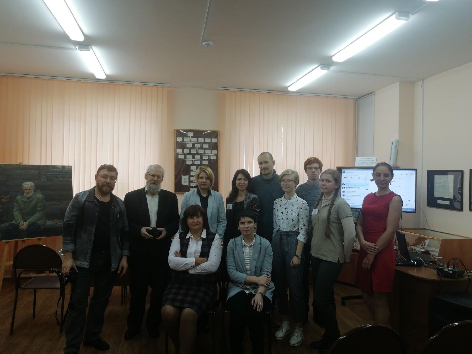 Участники семинара молодых писателей в Вологде. Беловские чтения.