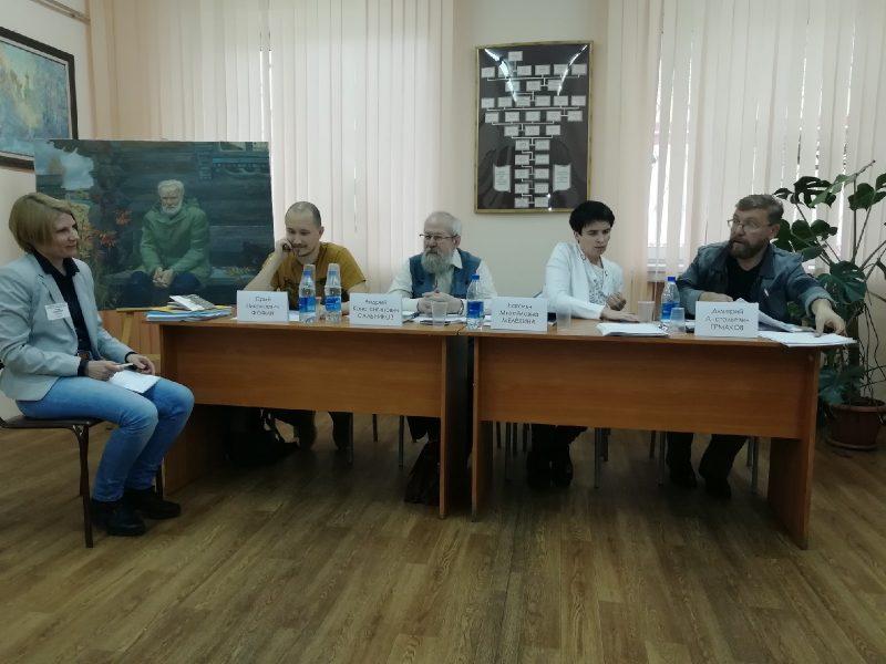 Руководители семинара молодых писателей. Беловские чтения.