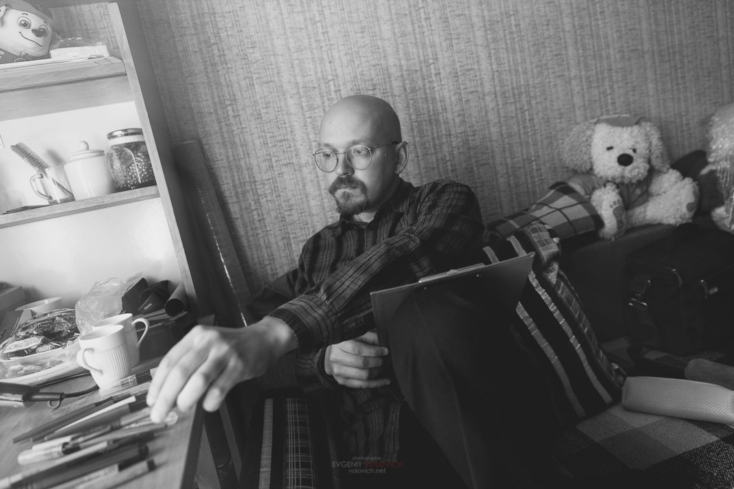 Сергей Ивкин. Фото: Евгений Волович // Формаслов