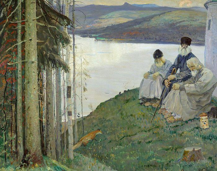 Михаил Нестеров. Лисичка. 1914 // Формаслов
