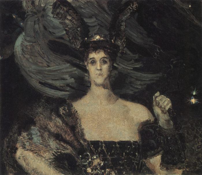 """Михаил Врубель. """"Валькирия"""". 1899 // Формаслов"""