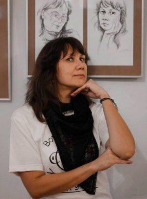 Поэт Инна Домрачева. Фото Елены Бушуевой // Формаслов