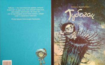 """Обложка книги """"Тубагач"""" Шамиля Идиатуллина // Формаслов"""