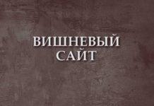 Алексей Остудин. Вишневый сайт // Формаслов