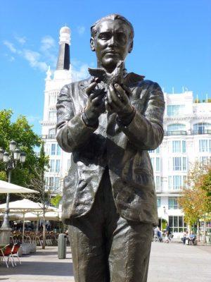 Памятник Лорке в Мадриде // Формаслов