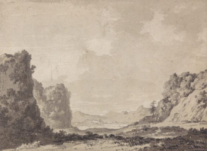 "Александр Козенс-старший. ""Долина"", 1770-е // Формаслов"