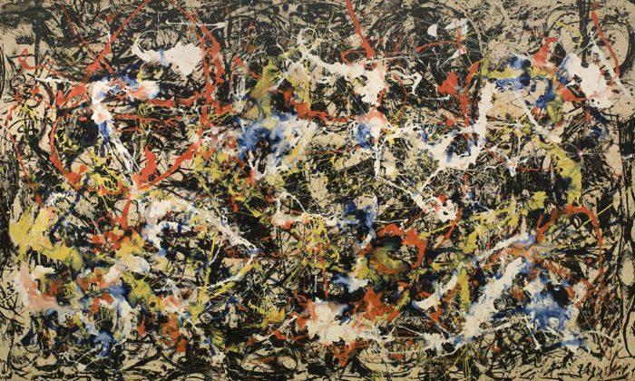 """Джейсон Поллок, """"Сближение"""", 1952 // Формаслов"""