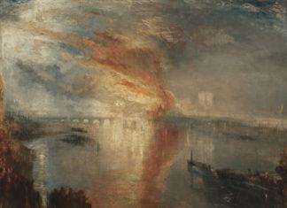 Уильям Тернер. Пожар в здании парламента // Формаслов