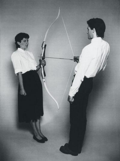 Марина Абрамович и Улай, перформанс «Энергия покоя», 1980 // Формаслов
