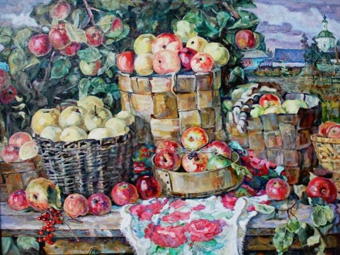 Владимир Фефелов «Яблочный спас» // Формаслов