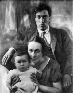 Пастернак с первой женой Евгенией Лурье и сыном // Формаслов