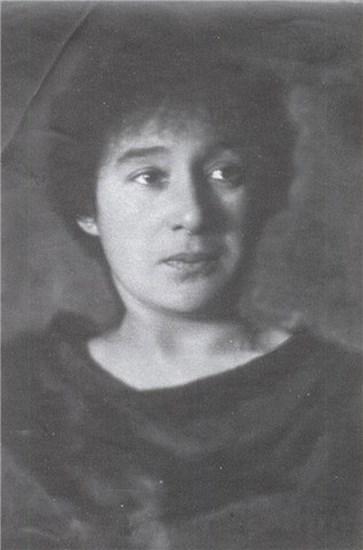 Елизавета Полонская. Фото Моисея Наппельбаума // Формаслов