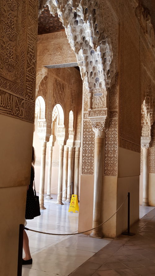 Альгамбра в Гранаде внутри. Фото Галины Ицкович // Формаслов