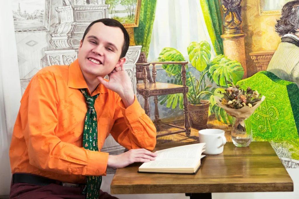 Борис Кутенков. Фото Даниилы Шиферсона // Формаслов