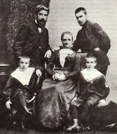 Семья Виталия Бианки. Родители и братья.