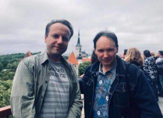 Александр Чанцев и Андрей Иванов // Формаслов
