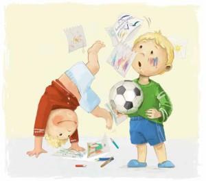 Двойняшки. Иллюстрация к рассказу Ольги Стец  // Формаслов