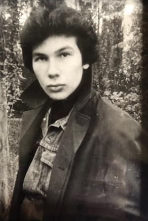 Рудницкий. Фото из посмертной книги «Сказки крылатых звёзд» (1995) // Формаслов