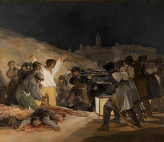 """Франсиско Гойя, """"Третье мая 1808 года в Мадриде"""" (1814) // Формаслов"""
