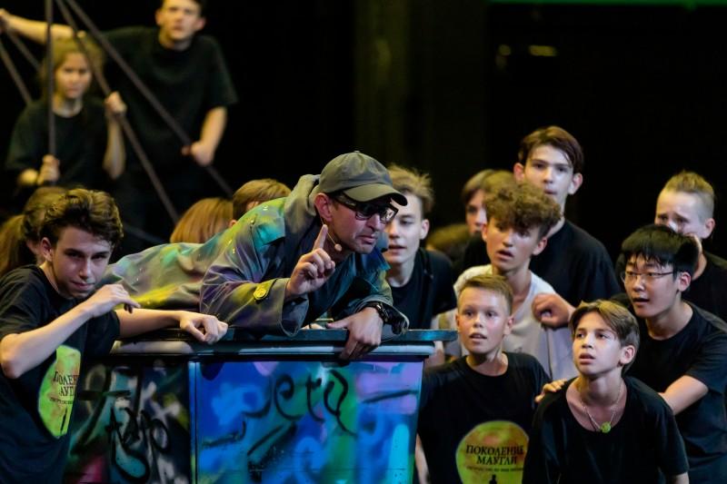 Спектакль «Поколение Маугли». Фото Фонда Хабенского // Формаслов